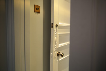 Beautiful doors in West London