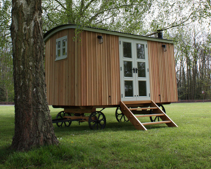 Shepherd Huts by Duncan Bruce bespoke furniture makers